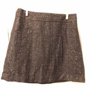 Forever 21 black and shimmer skirt