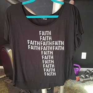 Tops - Faith Black Top