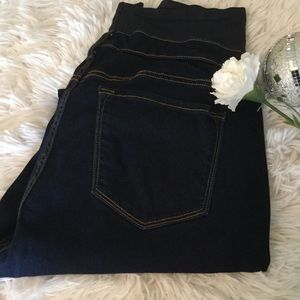 43730001c5d Old Navy Jeans - 💋 Maternity Premium Full-Panel Rockstar Jeans💋