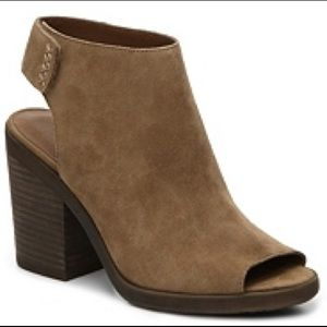Lucky Brand Odenah open toe booties