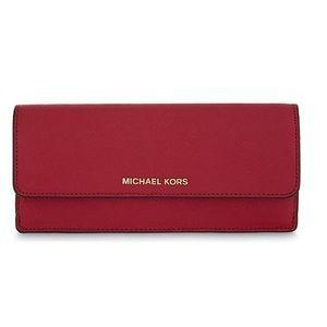 Michael Kors- Slim Saffiano Leather wallet!