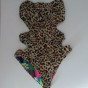 MARA HOFFMAN cutout one piece
