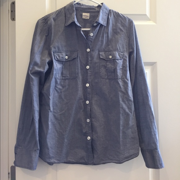 J. Crew Tops - J Crew Lightweight Shirt Size M