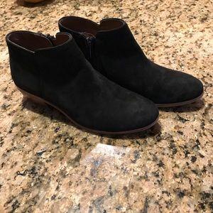 Sam Edelman petty black suede bootie size 7