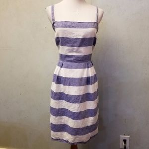 LOFT strip dress