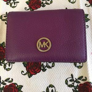 Michael Kors leather wallet