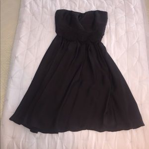 Black Strapless The Limited dress