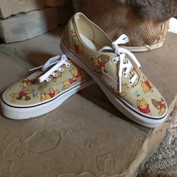 Disney Winnie The Pooh Vans Euc S 7