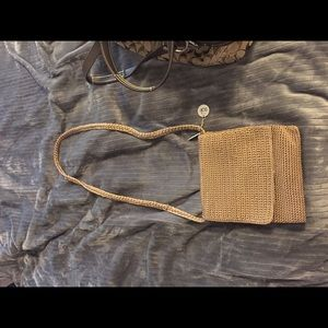 Saks cross body purse