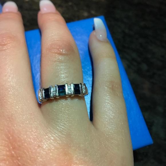 Keepsake The Label Jewelry Art Carved Keepsake Sapphire Wedding