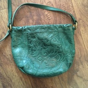 Teal Fossil Cross Body 🐢