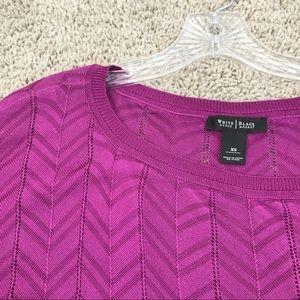 New listing ✨WHBM fuschia sweater