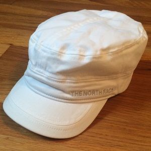 THE NORTH FACE White Military Style Hat