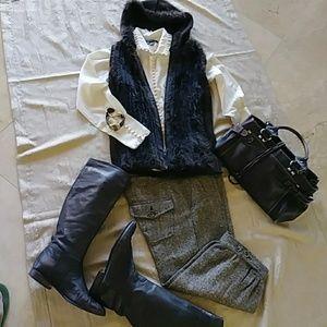 Zara Tweed Knickers Pants