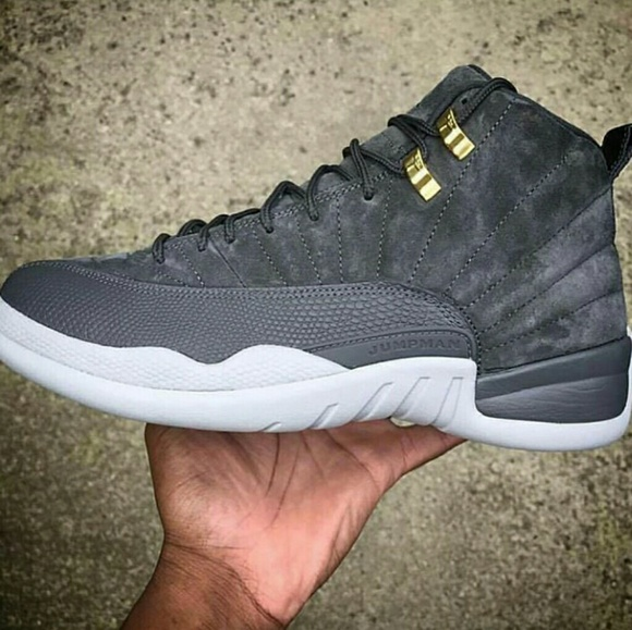 new styles 83258 5eb7b Grey Suede 12s