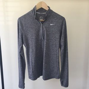 Nike Dri-FIT Quarter Zip Training Running Jacket