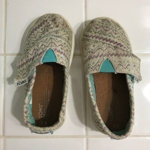 Toms Toddler 6 Shoes