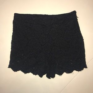 Free People Black Lace Skirt 💜 Sz 8
