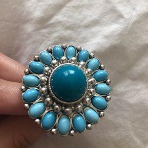 Turquoise big ring