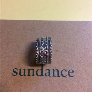 Sundance silver ring