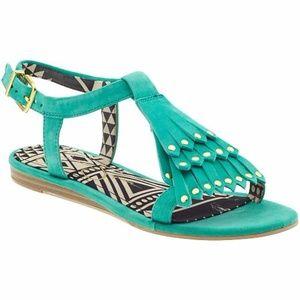 Jessica Simpson Dexter Slingback Sandal Turquoise