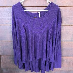 Free People Open back tunic