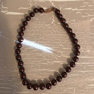 Jewelry - Brown Pearl Necklace