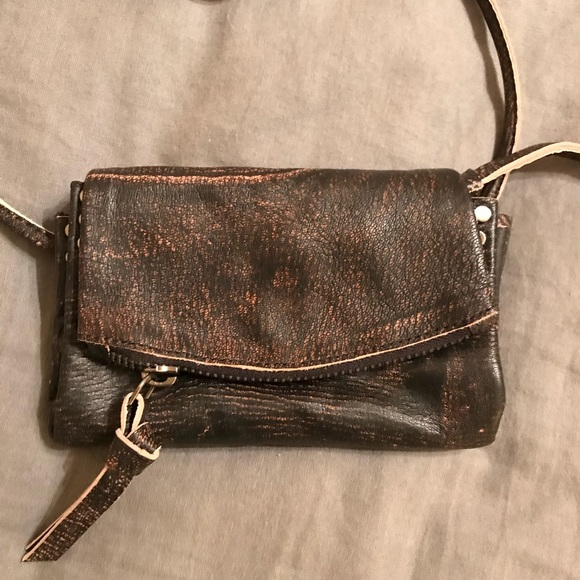 0eeddc7e606 Free people small leather wallet/purse crossover