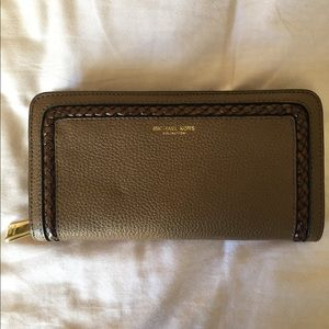 Michael Kors Collection Genuine Leather Wallet