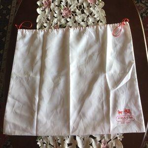 Coach silky dust bag