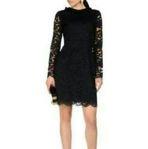 Marc by Marc Jacobs Long-Sleeve Lace Dress