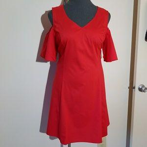 🆕Cold-Shoulder Dress
