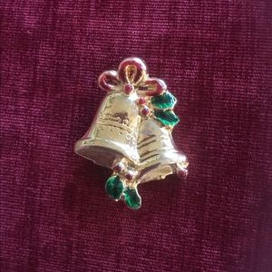 Jewelry - Vintage Christmas Bells Pin/Brooch