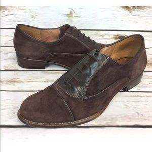 CORSO COMO Shoes Suede Brown leather Laced oxfords