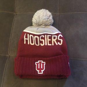 IU fleece hat