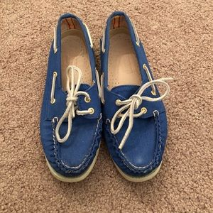 Blue Sperry Top-Sider for J.Crew