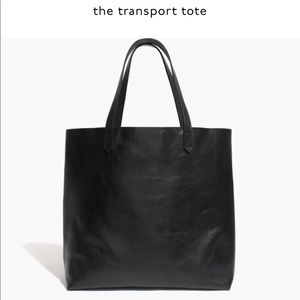 Madewell Transport tote in black