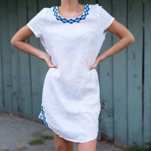 Linen Coverup Dress by Cynthia Rowley