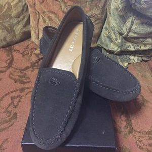 Suede Coach® Loafers