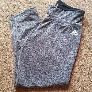 Adidas capri work out pant