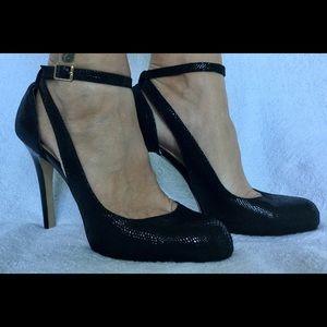 I N C International Concepts black strap heel