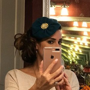Headband fascinator ❤️ EUC