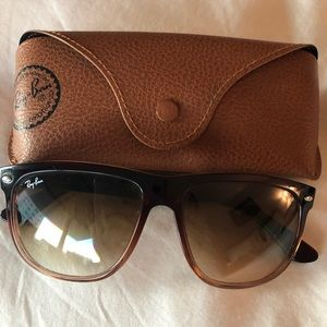 Ray-Ban Brown Gradient Sunglasses RB4147