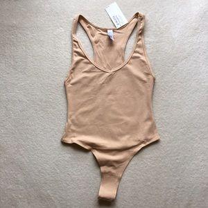 American apparel thong bodysuit.