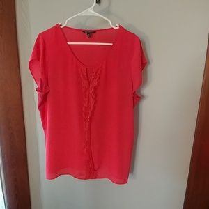 Express keyhole blouse