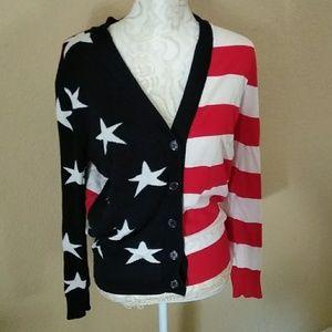 🇺🇸United States of America flag cardigan