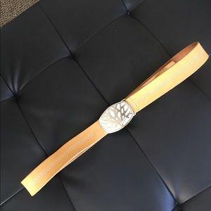 Timberland tan belt