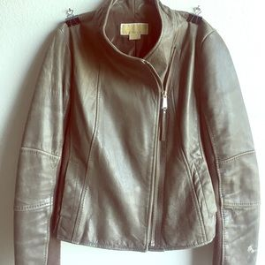 MICHEAL KORS - leather jacket