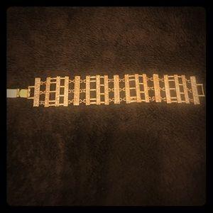 Women's Gold CZ Bracelet