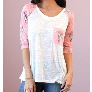 Women's 3/4 sleeve top